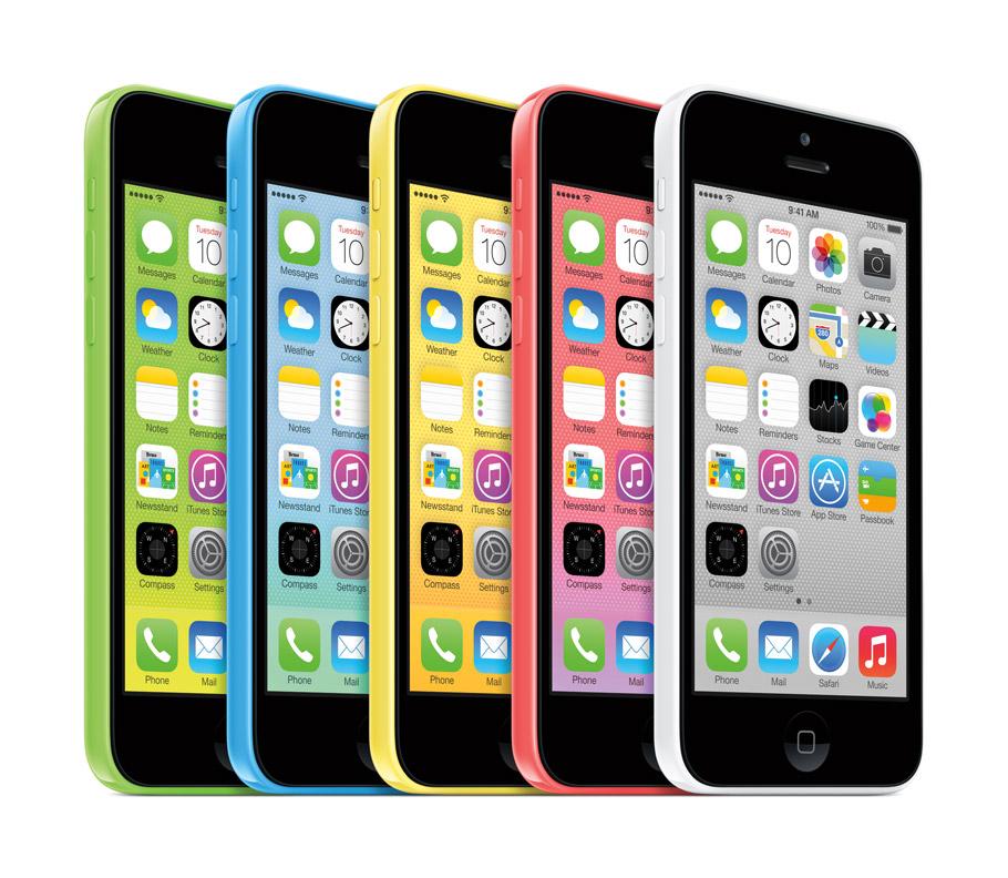Apple History IPhone 5c