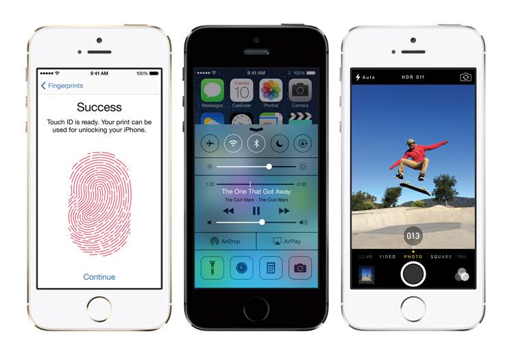 Apple History IPhone 5s