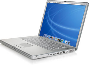15.2 inch Powerbook, G4 1.67 GHz, 2MB RAM